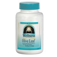Source Naturals Wellness olive leaf extract 500 mg tablets - 30 ea