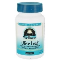 Source Naturals wellness Olive leaf 500mg tablets - 60 ea