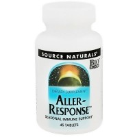 Source Naturals Aller-Response seasonal immune support tablets - 45 ea