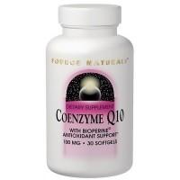 Source Naturals Coenzyme Q10 bioperine 100 mg softgels - 30 ea