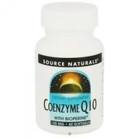 Source Naturals Coenzyme Q10 bioperine 100 mg softgels - 60 ea