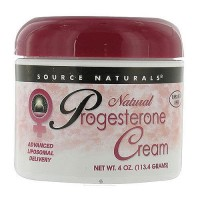 Source Naturals Progesterone Cream for Women - 4 oz