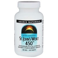 Source Naturals St. Johns wort extract 450 mg tablets - 180 ea