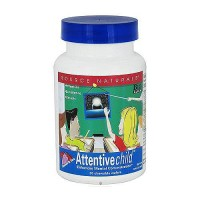 Attentive child chewable wafers for mental concentration - 30 ea