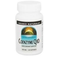 Source Naturals Coenzyme Q10 100 mg softgels - 30 ea