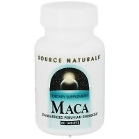 Source Naturals MACA standardized peruvian energizer tablets - 60 ea
