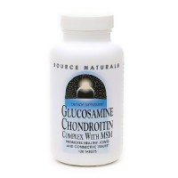 Source Naturals Glucosamine Chondrotin Complex with MSM - 120 Tablets