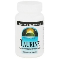 Source Naturals Taurine 500 mg tablets - 60 ea