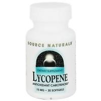 Source Naturals Lycopene antioxidant carotenoid 15 mg softgels - 30 ea