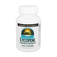 Source Naturals Lycopene Antioxidant Carotenoid 15mg Softgels - 60 ea