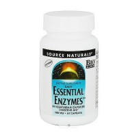 Essential enzymes 500 mg digestive aid enzyme supplement capsules, 60 ea