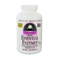 Essential enzymes 500 mg digestive aid enzyme supplement capsules, 240 ea