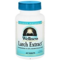 Source Naturals wellness Larch extract tablets - 60 ea