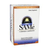 SAMe S-adenosyl-L-methionine 200 mg enteric coated tablets, 60 ea