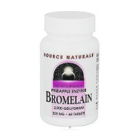Source Naturals Bromelain 200 GDU/GRAM, 500mg Pineapple Enzyme - 60 tablets