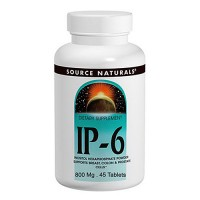 Source Naturals IP-6 inositol hexaphosphate 800 mg tablets - 45 ea