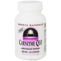 Source Naturals Coenzyme Q10 200 mg vegetarian capsules - 60 ea