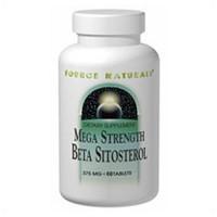 Source Naturals Mega Strength Beta Sitosterol 375 mg Tablets - 60 ea