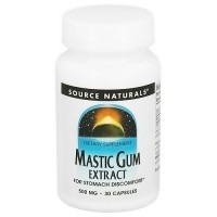 Source Naturals Mastic gum extract 500 mg capsules - 30 ea