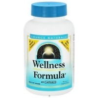 Source Naturals Wellness Formula Capsules  - 60 ea