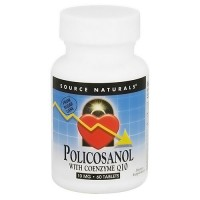Source Naturals Policosanol with coenzyme Q10 10 mg tablets - 60 ea