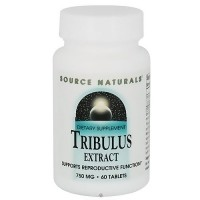 Source Naturals Tribulus extract 750 mg tablets - 60 ea