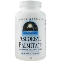 Source Naturals Ascrobyl palmitate 500 mg powder with vitamin C - 4 oz