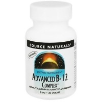 Source Naturals Advanced B-12 complex 5 mg tablets - 30 ea