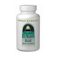 Red marine algae 350 mg tablets - 90 ea