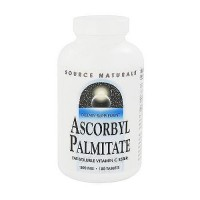 Source Naturals Ascorbyl palmitate fat soluble vitamin C ester tablets - 180 ea