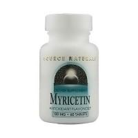 Source Naturals Myricetin antioxidant flavonoid 100 mg tablets - 60 ea