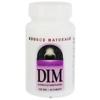 DIM Di-indolyl-methane 100 mg immunity build tablets, 60 ea