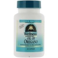 Source Naturals Wellness Oil of Oregano, 45mg - 60 Capsules