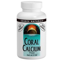 Calcium coral dietary supplement powder - 2 oz