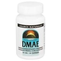 Source Naturals DMAE 351 mg capsules - 50 ea