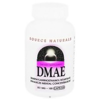 Source Naturals DMAE 351 mg capsules - 100 ea