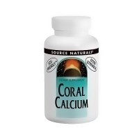 Source Naturals Coral calcium 600 mg extra strength capsules - 60 ea