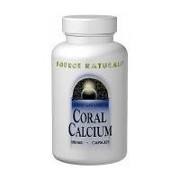 Source Naturals Calcium Coral 600 mg capsules - 240 ea