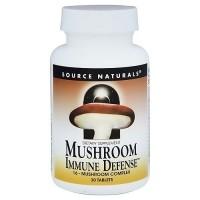Source Naturals Mushroom immune defense 16-mushroom complex tablets - 30 ea
