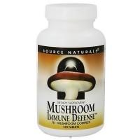 Source Naturals Mushroom immune defense 16 - mushroom complex tablets - 120 ea