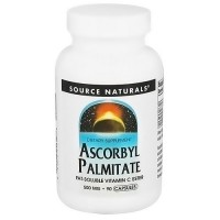 Source Naturals Ascrobyl Palmitate 500 mg Capsules - 90 ea