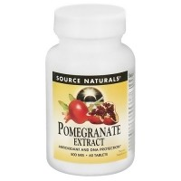 Source Naturals Pomegranate extract 500 mg tablets - 60 ea