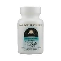 Source Naturals Lignan extract 70 mg capsules - 30 ea