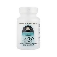 Source Naturals Lignan Extract 70 mg capsules - 60 ea