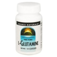 Source Naturals L-Glutamine 500 mg tablets - 50 ea