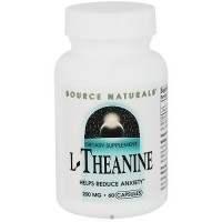 Source Naturals L-Thenaine 200 mg Capsules- 60 ea