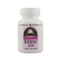Source Naturals R-Lipoic acid 50 mg tablets - 30 ea