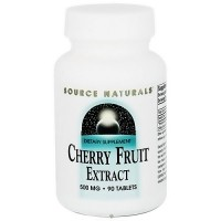 Source Naturals Cherry Fruit extract 500 mg tablets - 90 ea