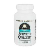 Source Naturals Activated Quercetin bioflavonoid complex capsules - 100 ea