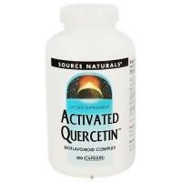 Source Naturals Activated Quercetin bioflavonoid complex capsules - 200 ea